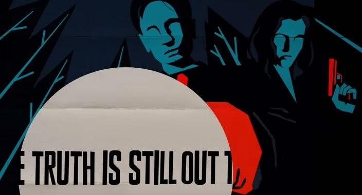 Анимированный тизер нового сезона The X-files